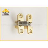 Wholesale Soss Cabinet Metal Folding Door Hardware Zinc Alloy Hinge 180 Degree from china suppliers