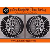 Wholesale Susha Wheels - Customized 19inch 18inch Black Forged Wheels / Mazda Auto Wheels Rims from china suppliers