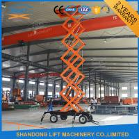 Wholesale Mobile Platform Lift , 300kg 500kg 1000kg Load Capacity Hydraulic Scissor Lift Trolley  from china suppliers