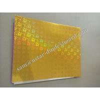 Buy cheap star pattern hologram foil paper from wholesalers