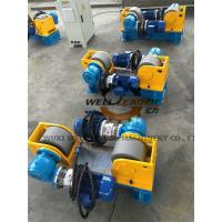 Buy cheap Conventional Light Pole Welding Machine Variable Speed Pipe Rotators For Welding from wholesalers