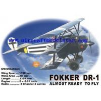 Wholesale Fokker DR-1,wingspan1530mm remote control plane from china suppliers
