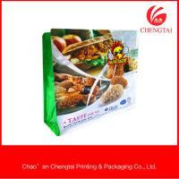 Wholesale Fast Food Packaging Flat Bottom Pouches Oxygen Resistance Flat Bottom Bags from china suppliers