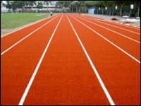 Wholesale 18mm PE Red Running Track Artificial Grass With Good Drainage from china suppliers