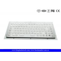 Wholesale 86 Flush Keys compact metal computer keyboard 12 Function Keys from china suppliers