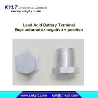 Wholesale KYLT Buje Automotriz Negativo &Positivo LEAD alloy terminals for Lead acid battery from china suppliers
