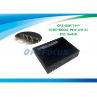 Wholesale 1MKb Fiber Optic Network Switch Poe 5 Port Dual Mode External Power from china suppliers