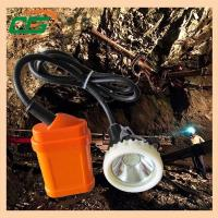 Wholesale 1 Watt 4500Lux LED Rechargeable Mining Hard Hat LED Lights high power headlamp from china suppliers