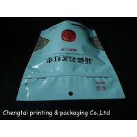Quality Customized Ziplock Stand Up Pouches Eco Friendly Three Layers for sale