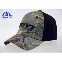Wholesale Adults Cotton Camo Baseball Caps , Fashion Outdoor Sports Baseball Hats from china suppliers