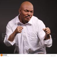 Quality Western Style Celebrity Action Figure Mike Tyson Life Size Resin Human Replica Statue for sale