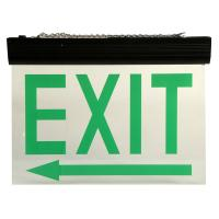 Wholesale Automatic Maintained Double Sided Exit Signs For Ceiling Surface Suspended from china suppliers
