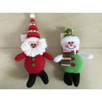 Wholesale Christmas tree decoration hanging snowman&santa&deer from china suppliers