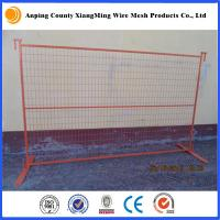 Wholesale coating construction site fencing temporary site fencing construction temporary fencing from china suppliers