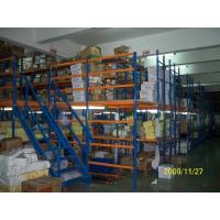 Quality Warehouse 2-12 Levels Multi-layer Steel Mezzanine Floor System, Static Powder Coating for sale