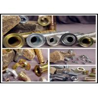 Wholesale SAE / DIN Hydraulic Hoses And Fittings Ferrule Color Zinc Plating from china suppliers