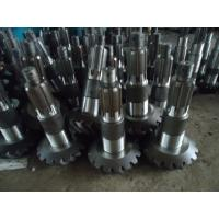 Wholesale worm shaft machining parts with good quality,Cone-shaped bevel gear processing, all kinds of modular gear processing from china suppliers