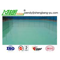 Wholesale Silicon PU Athletic Sport Court Floor Poly Floor Coating Elastic basketball playing surface from china suppliers