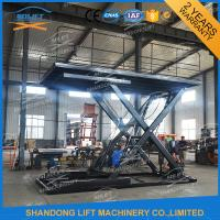 Quality Hydraulic Scissor Car Lift Smart Car Parking System Scissor Car Parking Equipment With CE for sale
