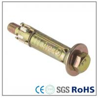 Wholesale Color Zinc Plated Expansion Anchor Bolts For Building , Stainless Steel Screws from china suppliers