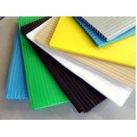 Wholesale White / Black / Blue 4mm corrugated plastic sign board Coroplast Sheets from china suppliers