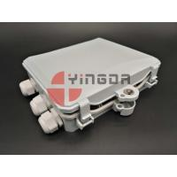 Buy cheap Outdoor Optical Terminal Box 1x12 PLC splitter , 12 Cores 3Ports Fiber Distribution Box IP65 from wholesalers