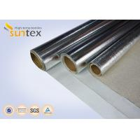 China Fire Retardant Aluminized Glass Cloth Thermal Insulating Materials Of The Steam Heating Pipelines & Fire Suits on sale