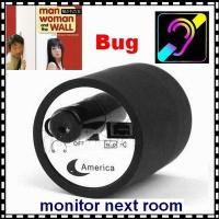 Wholesale Mini Next Room Ear Amplifier Through Wall Door Audio Listening Spy Surveillance Bug from china suppliers