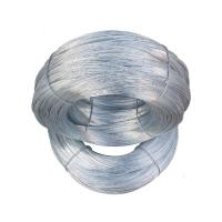 Wholesale Electro Silver Steel Galvanized Iron Wire , Bwg24 High Carbon Steel Wire from china suppliers