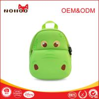 Wholesale Softback green Student School Bags Lovely Hippo Shape 10-20L from china suppliers
