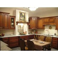 Quality solid wood kitchen cabinet for sale
