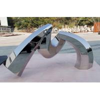 Wholesale Custom Outdoor Abstract Stainless Steel Sculpture And Metal Garden Sculpture from china suppliers