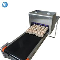 Wholesale Touch Screen Egg Spraying Machine , Egg Printer Machine 6 Nozzles from china suppliers
