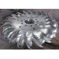 Wholesale 500m High Head Pelton Turbine Runner With two Nozzles and forged CNC machining Runner from china suppliers