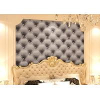 Wholesale 3D Effect European Style Black and White Leather Pattern Wallpaper from china suppliers