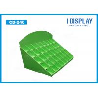 Wholesale Green Cosmetic Retail Cardboard Counter Display E Flute 25*38*42 CM from china suppliers