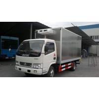 Wholesale dongfeng duolika 4*2 5tons stainless steel refrigerated truck, factory sale best price stainless steel cold room truck from china suppliers
