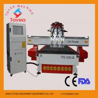 Wholesale Simple ATC CNC Router for wood door engraving cutting with imported rail,helical driving,DSP control TYE-1325-3S from china suppliers