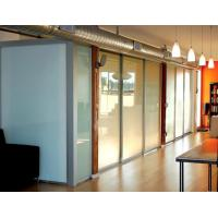 Wholesale Opaque Milk White Glass Panel Office Partitions , Glass Partition Panels from china suppliers