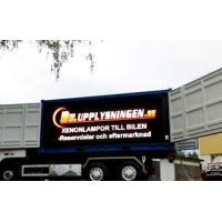 Wholesale Customized Moblie Truck Trailor Outdoor Led Display Boards P8 Aluminum Energy Saving from china suppliers