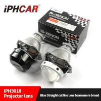 Quality IPHCAR New updated 3.0 inch D2H D2S HID high and low beam hid projector lens headlight for automotive motor for sale