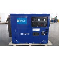 Wholesale 5W Air Cooled Silent Diesel Generator Unit AC Single Phase , 158Kg Weight from china suppliers