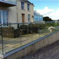 Wholesale America installing glass balustrades for outdoor decking from china suppliers