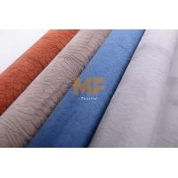 Wholesale DTY / FDY Microfiber Soft Velvet Warp Knitting Fabric For Luxury Home Furniture from china suppliers