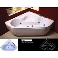 Quality Built - in Installation 100% Resin Acryl and ABS Massage Resin Bathtub 130 * 130 * 60 cm for sale