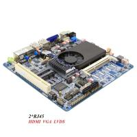 Wholesale Industrial Motherboard Dual LAN Motherboard Max 8GB RAM With PCI And Double Graphics Card from china suppliers