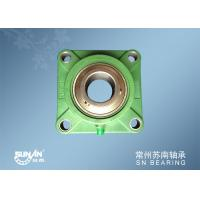 Wholesale Flange Mount Bearings / Green Plastic Pillow Block Bearings SUCFPL207 from china suppliers