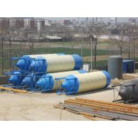 Buy cheap 100ton steel material cement silos for concrete plant from wholesalers