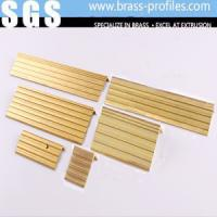 Wholesale C2800 Customized Size Brass Anti Slip Extruding Stair Edge Protection from china suppliers