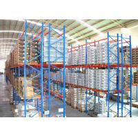 Quality Selective Heavy Duty Industrial Steel Storage Racks Maximum 2000kg/Pallet Customzied for sale